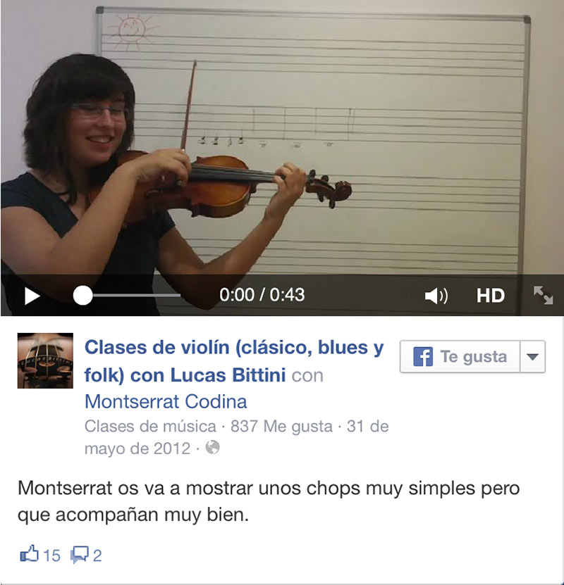 Chops ViolinBcn video