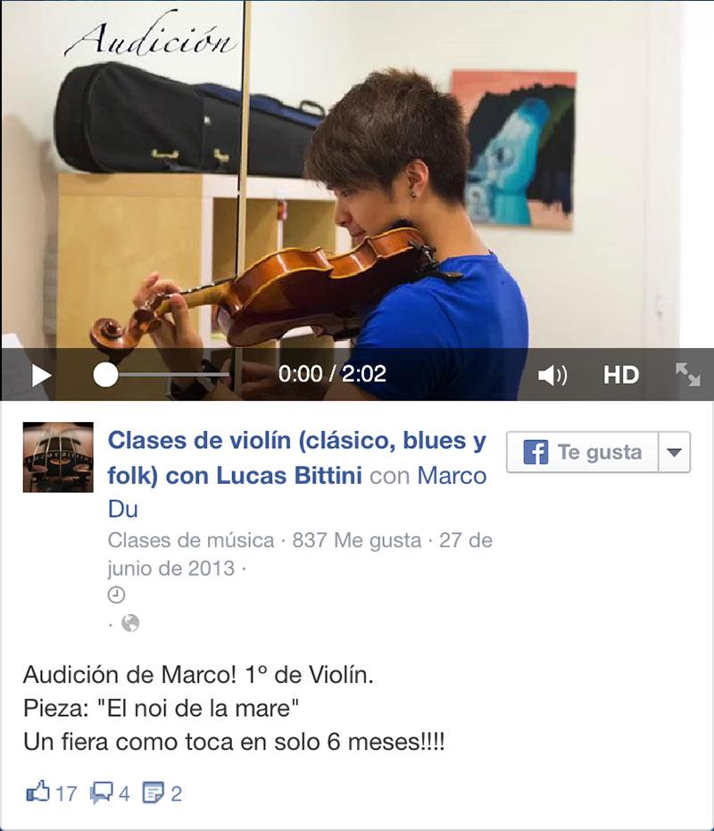 video Marco ViolinBcn