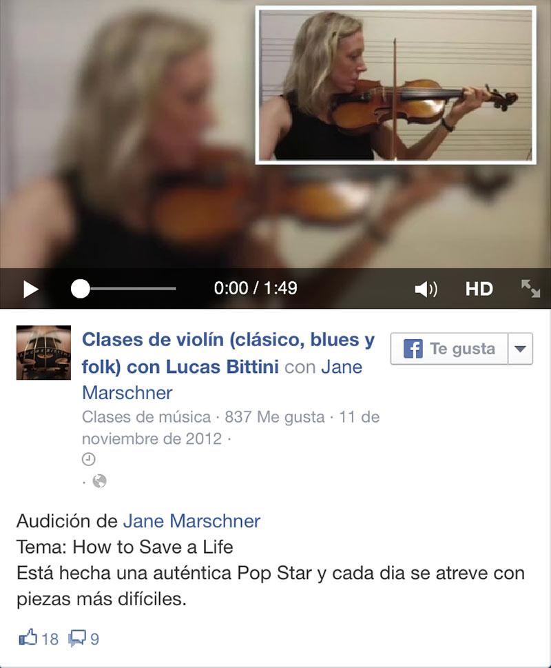 How to Save a Life ViolinBcn video