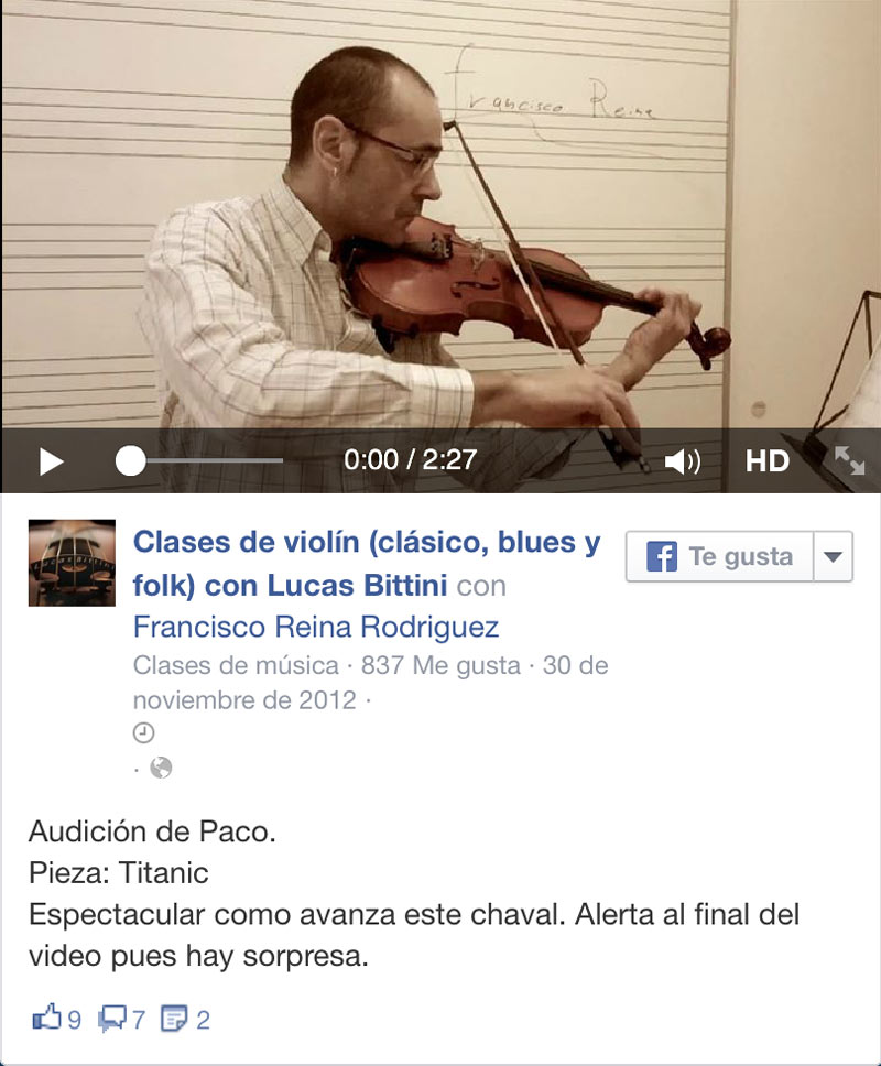 Titanic ViolinBcn videos